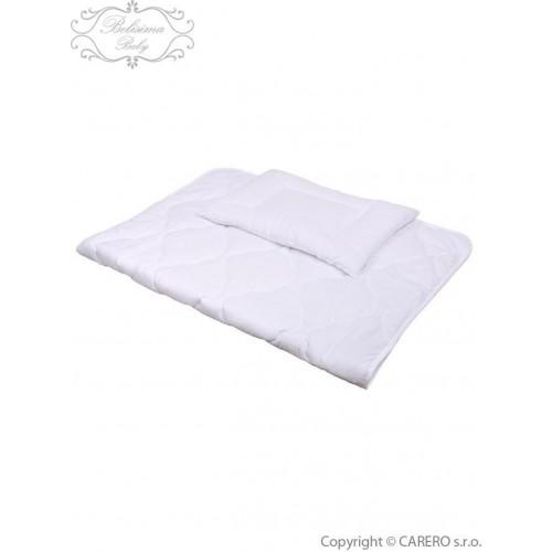 Luxusní výplně Belisima polštář a peřinka 100/135 bílá