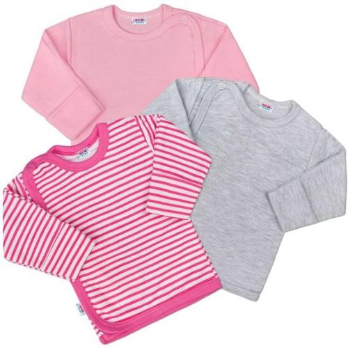Kojenecká košilka New Baby Classic II Holka 3ks Dle obrázku 50