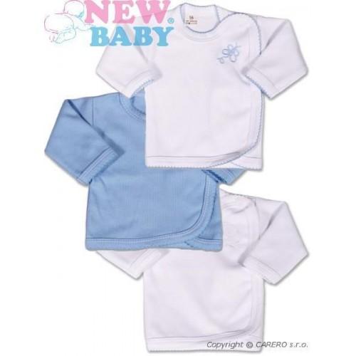 Kojenecká košilka New Baby Classic 3ks Modrá 50