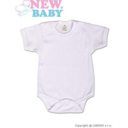 Body krátký rukáv New Baby Classic Bílá 92 (18-24m)