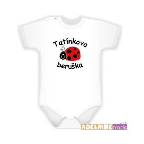 Baby Dejna Body kr. rukáv  Kolekce Beruška - Tatínkova beruška, 68 (4-6m)