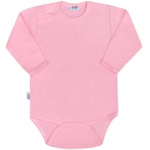 Kojenecké body New Baby Classic II růžové Růžová 86 (12-18m)