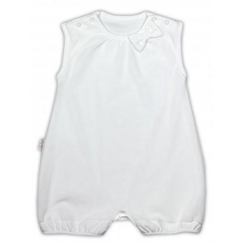 Sukničkobody NICOL PŘÁTELÉ s mašličkou - BIO bavlna - na ramínka - smetanové, 74 (6-9m)