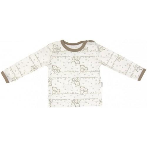 Bavlněné pyžamko Mamatti Baby Bear TEDDY, 74 (6-9m)