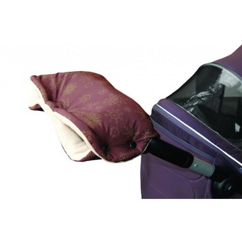 Emitex rukávník VLOČKA, hnědý/béžový