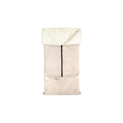 Emitex fusak 2v1 FANDA fleece/bavlna, béžový