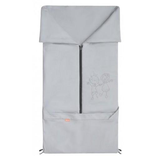 Emitex fusak 2v1 BARY bavlna, šedý