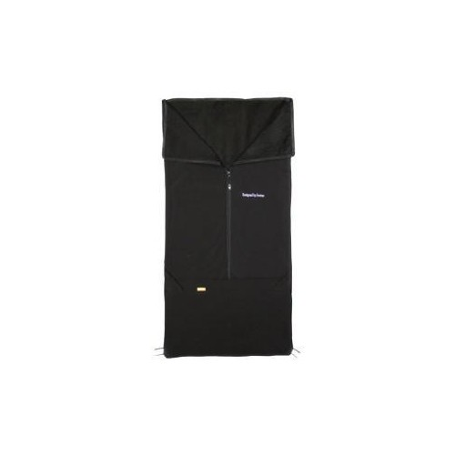 Emitex fusak 2v1 SAM softshell/microfleece, černý