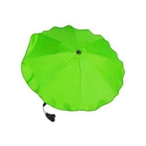 Slunečník na kočárek zelený