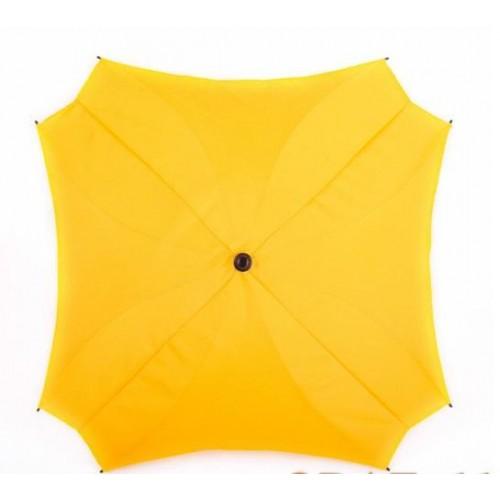 Slunečník na kočárek Baby Joy, čtvercový žlutá
