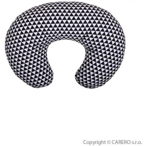 Univerzální kojící polštář Womar černo-bílý