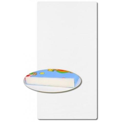 Pěnová matrace bílá 120x60
