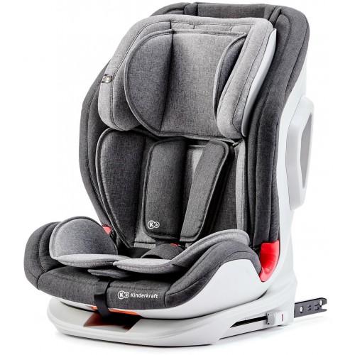 Autosedačka ONETO3 Isofix Black/Gray 9-36kg Kinderkraft 2019, černá/šedá