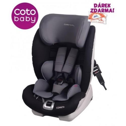 Autosedačka Coto Baby COMETA Isofix 9-36 kg Šedá 2017