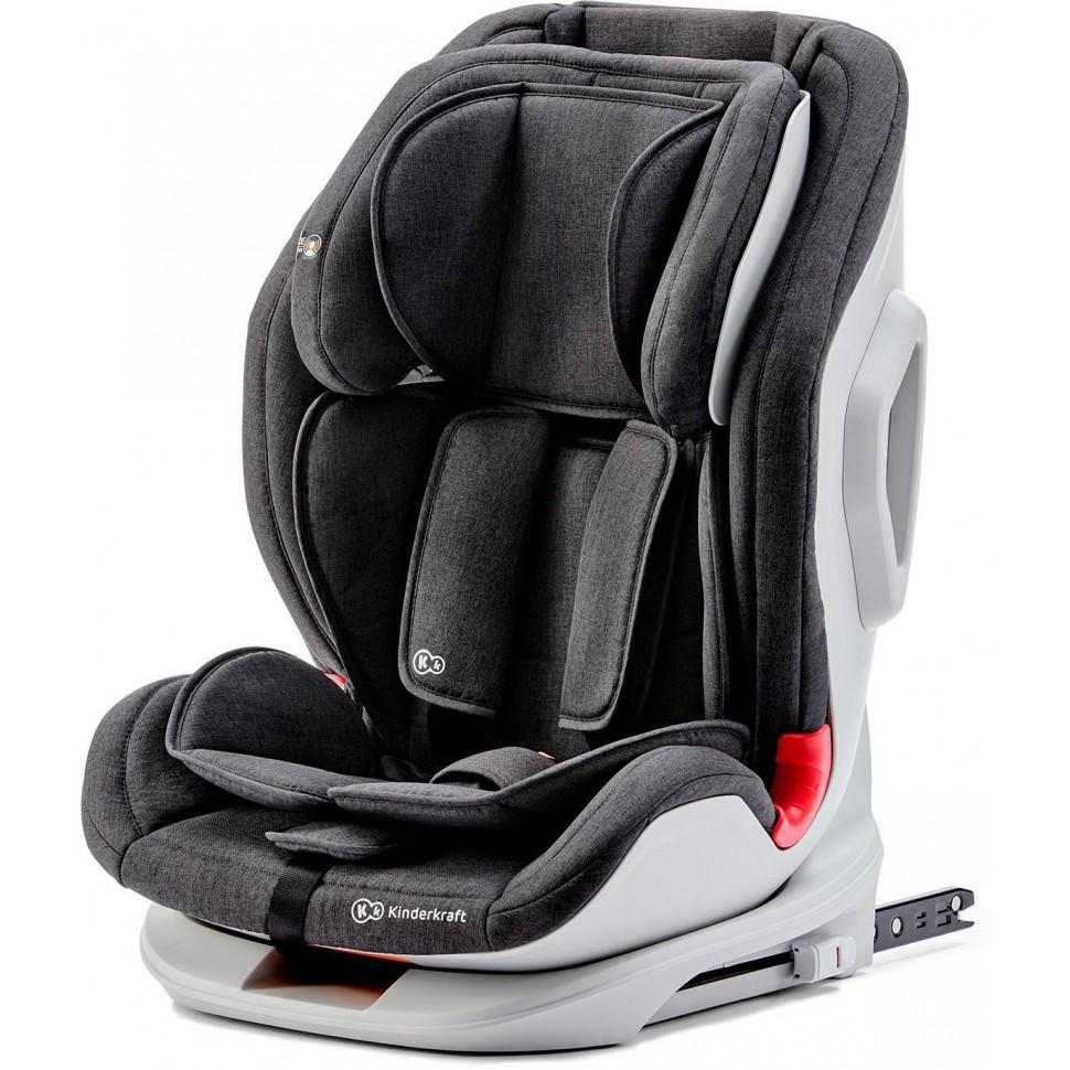 Autosedačka ONETO3 Isofix Black 9-36kg Kinderkraft 2019, černá