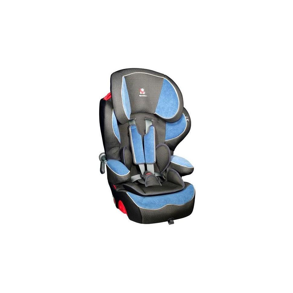 Autosedačka Renolux Quick Confort Hugo 2017, modrá/černá