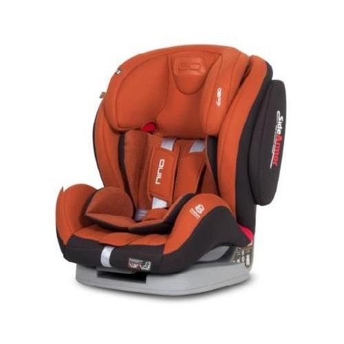 Autosedačka EasyGO Nino Copper 2018, oranžová