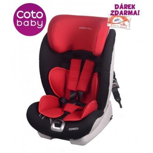 Autosedačka Coto Baby COMETA Isofix 9-36 kg Červená 2017