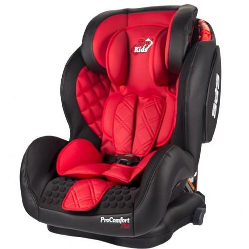 Autosedačka  Top Kids Pro Comfort Plus Isofix Red 2018, červená