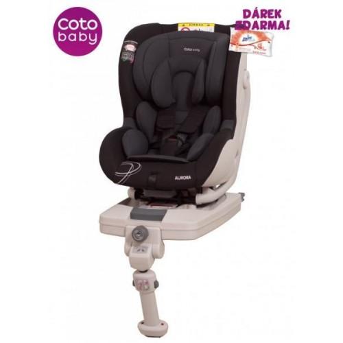 Autosedačka Coto Baby AURORA 0-18 kg černá 2017