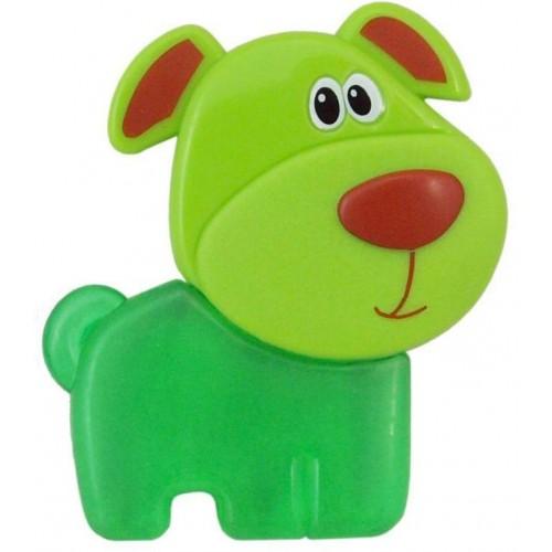 Chladící kousátko Baby Mix Pejsek zelené