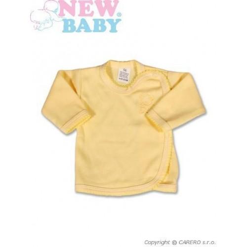 Kojenecká košilka New Baby Classic Žlutá 68 (4-6m)