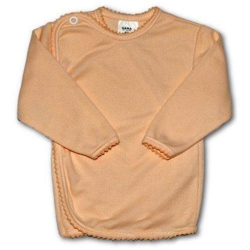 Kojenecká košilka proužkovaná New Baby oranžová Oranžová 68 (4-6m)