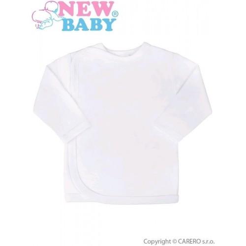 Kojenecká košilka New Baby bílá Bílá 68 (4-6m)