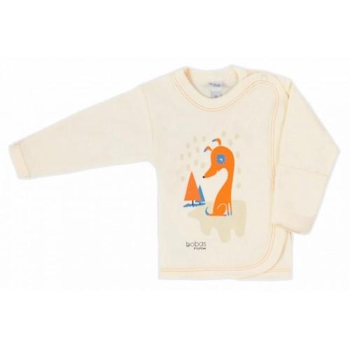 Kojenecká košilka Bobas Fashion Mini Baby smetanová Smetanová 62 (3-6m)