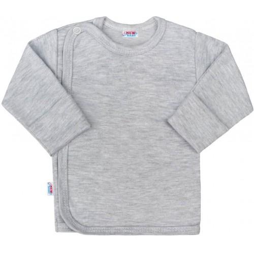 Kojenecká košilka New Baby Classic II šedá Šedá 50