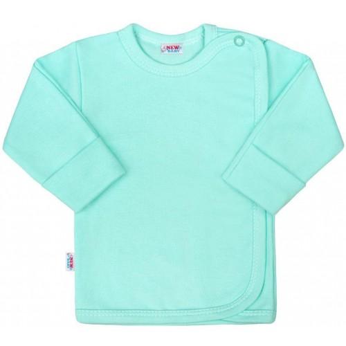 Kojenecká košilka New Baby Classic II mátová Zelená 50
