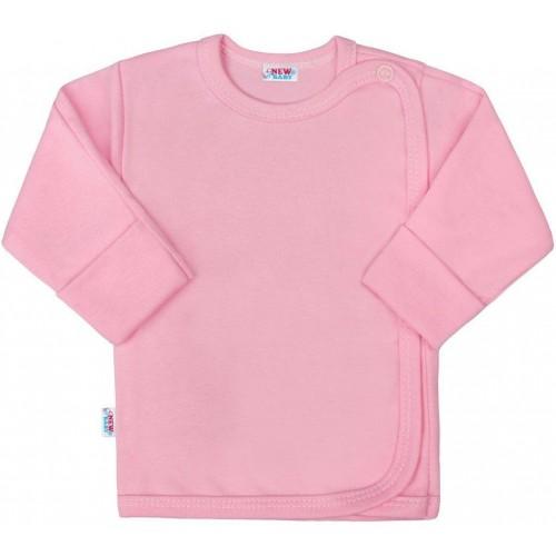Kojenecká košilka New Baby Classic II růžová Růžová 68 (4-6m)