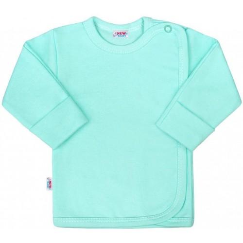 Kojenecká košilka New Baby Classic II mátová Zelená 68 (4-6m)