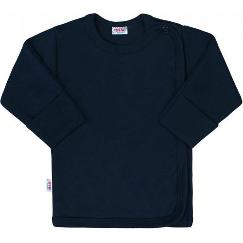 Kojenecká košilka New Baby Classic II tmavě modrá Modrá 68 (4-6m)