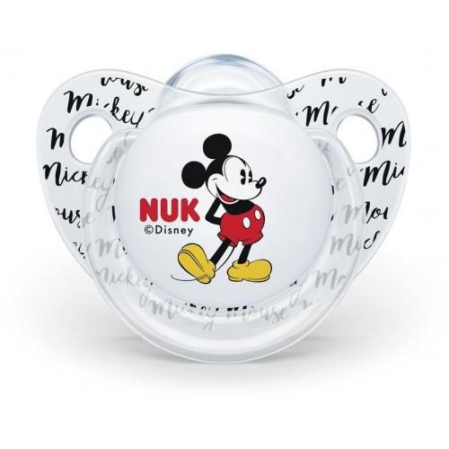 Šidítko Trendline NUK Disney Mickey Minnie 6-18m bílé
