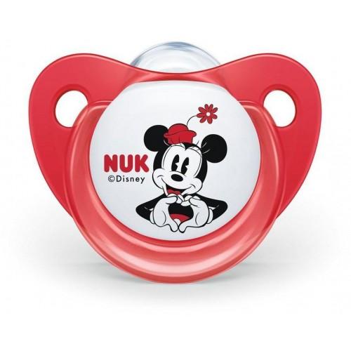 Šidítko Trendline NUK Disney Mickey Minnie 0-6m červené