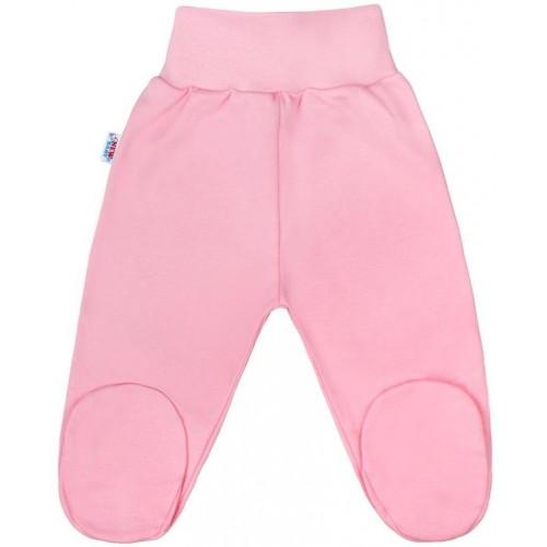 Kojenecké polodupačky New Baby Classic II růžové Růžová 80 (9-12m)