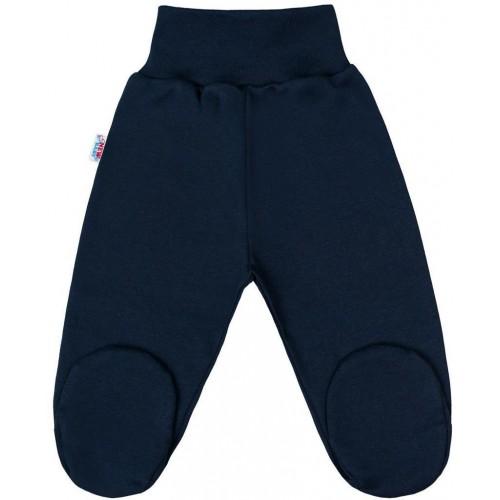 Kojenecké polodupačky New Baby Classic II tmavě modré Modrá 80 (9-12m)