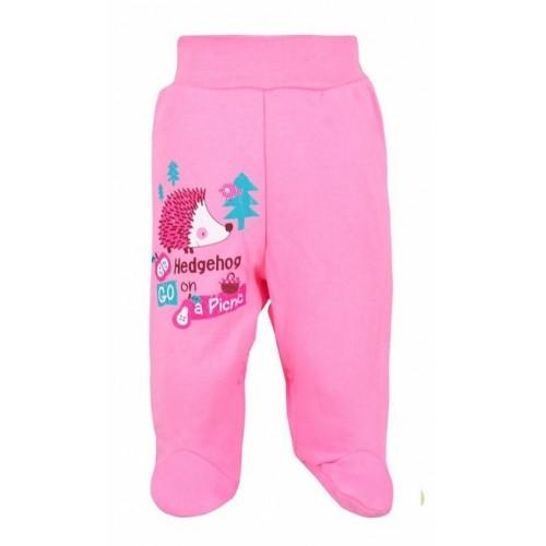 Kojenecké polodupačky Bobas Fashion Ježek růžové Růžová 86 (12-18m)