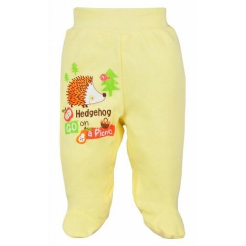 Kojenecké polodupačky Bobas Fashion Ježek žluté Žlutá 86 (12-18m)