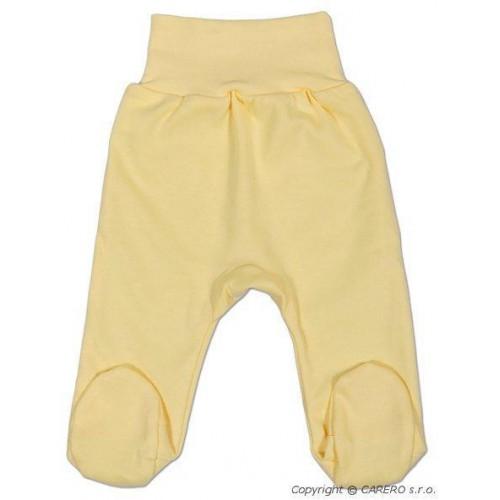 Kojenecké polodupačky New Baby žluté Žlutá 50