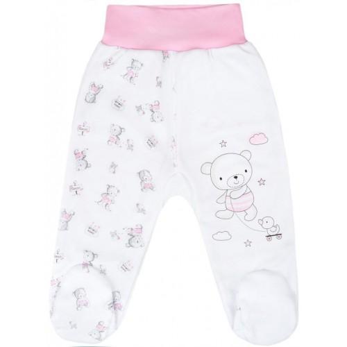 Kojenecké polodupačky New Baby Bears růžové Růžová 56 (0-3m)
