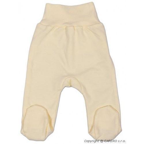 Kojenecké polodupačky New Baby béžové Béžová 62 (3-6m)