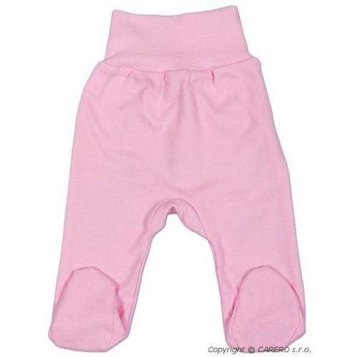 Kojenecké polodupačky New Baby růžové Růžová 62 (3-6m)