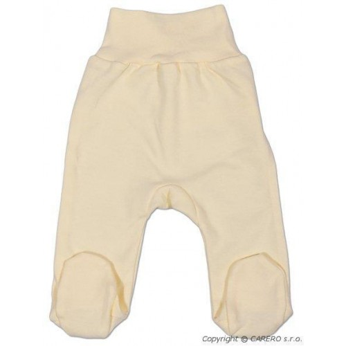 Kojenecké polodupačky New Baby béžové Béžová 68 (4-6m)