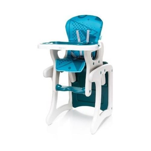 Jídelní židlička 4Baby Fashion Turkus, tyrkysová