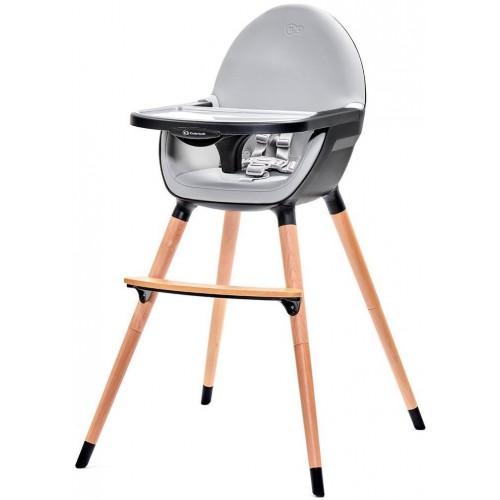 Jídelní židlička Kinderkraft FINI black, černá