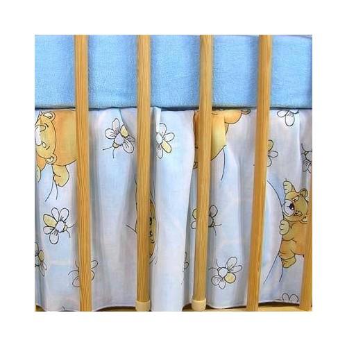 Darland VÝPRODEJ Krásný volánek pod matraci - Včelka modrá, 120x90