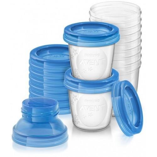 Sada Via pohárků Avent - 10 kusů