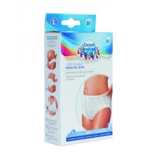 Poporodní kalhotky M, 5ks v balení Canpol Babies
